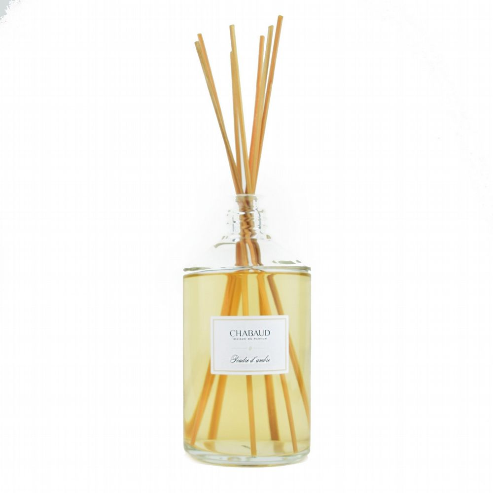 Chabaud - Reed Diffuser - Poudre d' Ambre